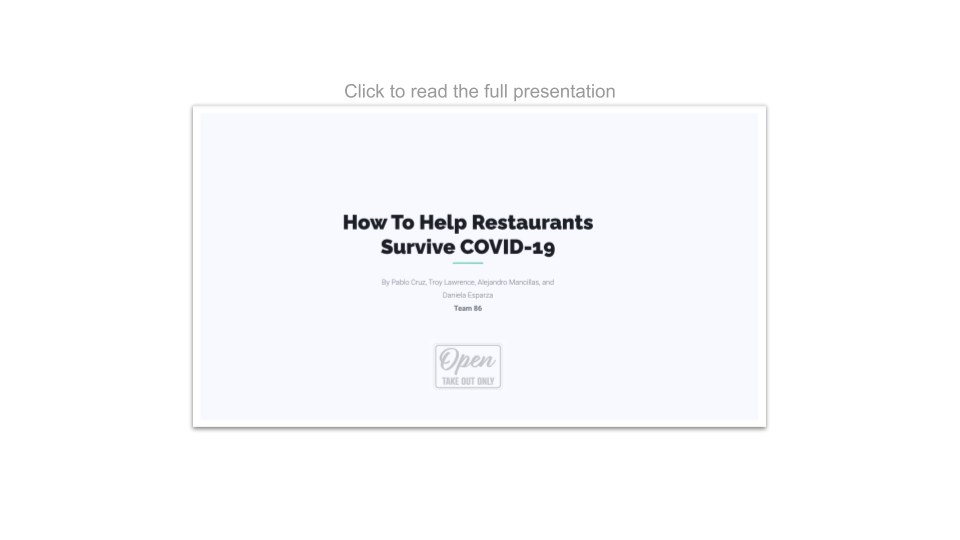 DS4A Capstone Project_Presentation Image_Team 86_How to help restaurants survive Covid 19_2