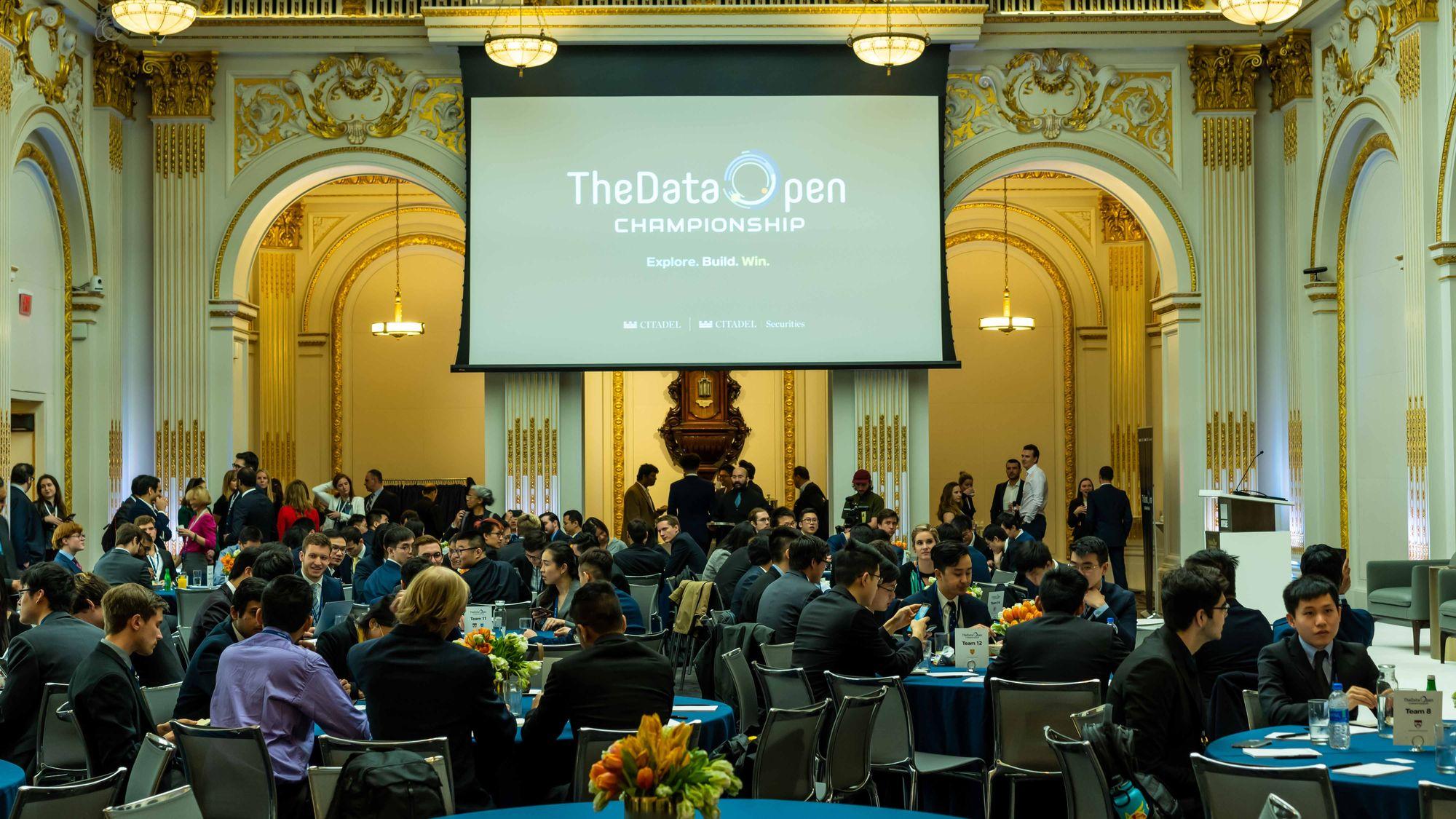 citadel datathon. citadel data open. The data open championship. caltech data science
