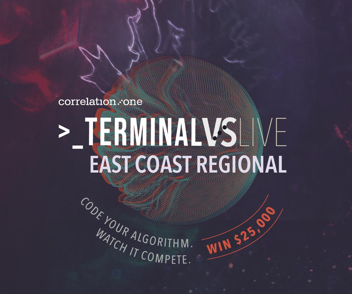 Correlation One Terminal Live: East Coast Regional