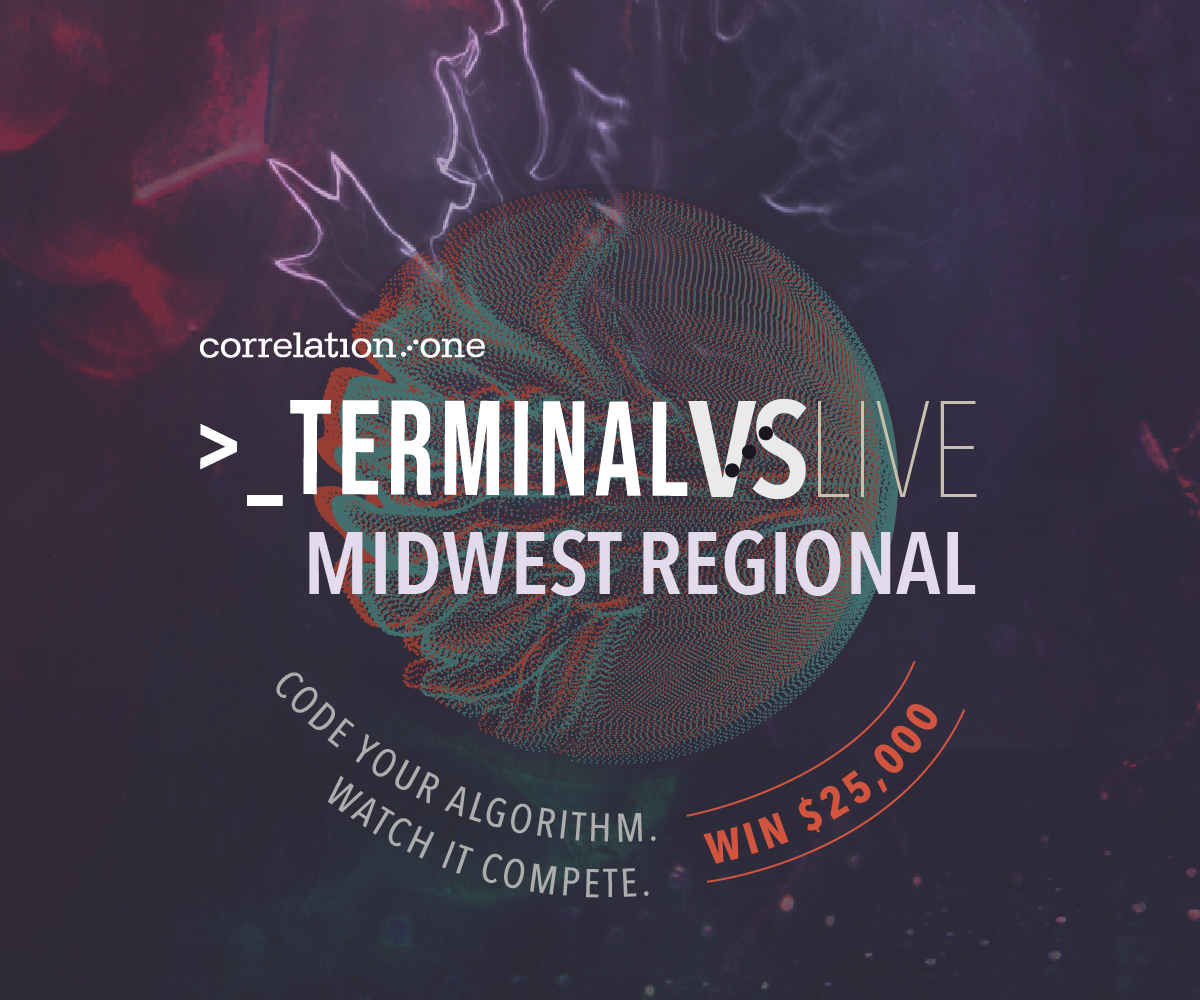 Correlation One Terminal Live: Midwest Coast Regional