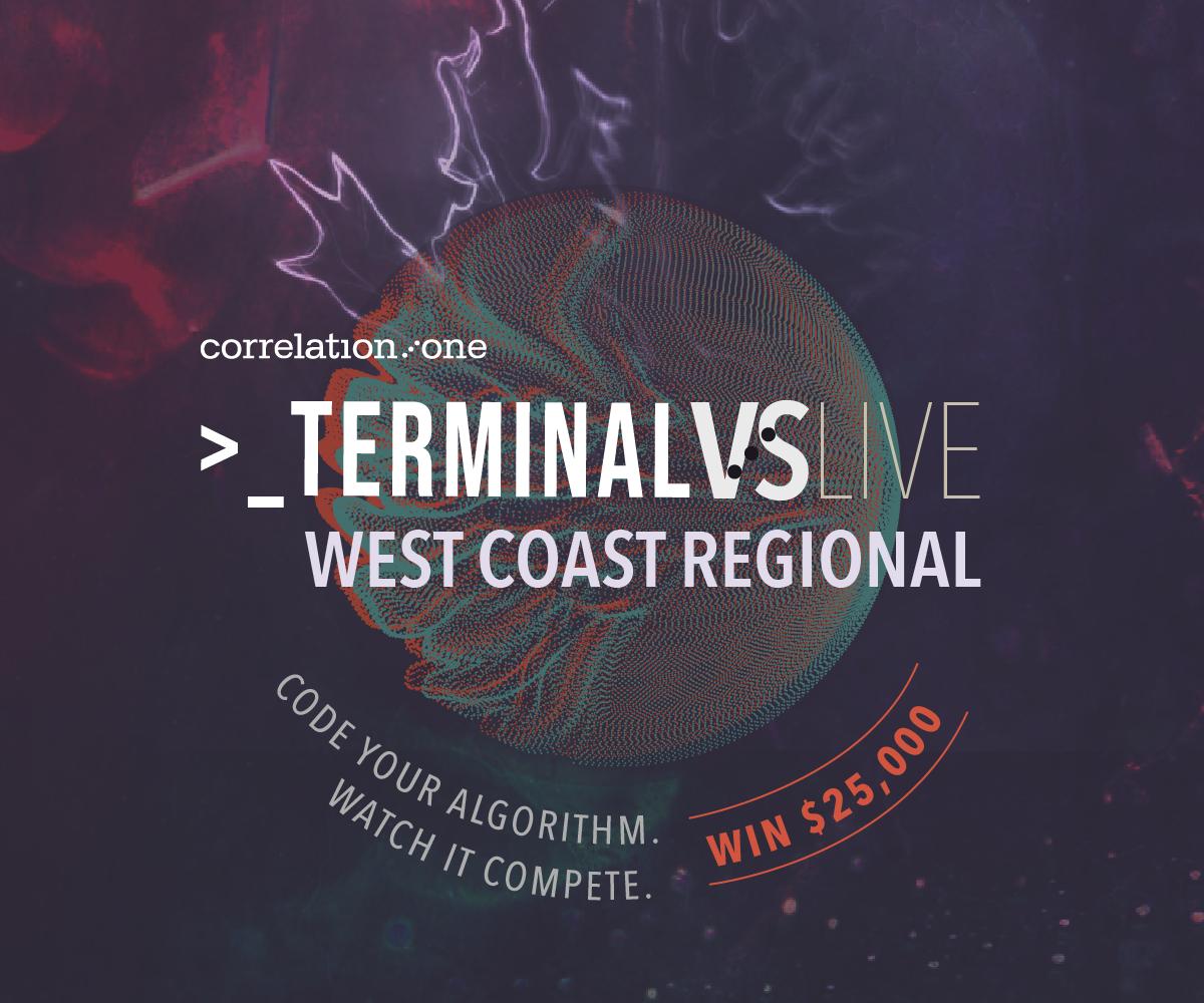 Correlation One Terminal Live: West Coast Regional