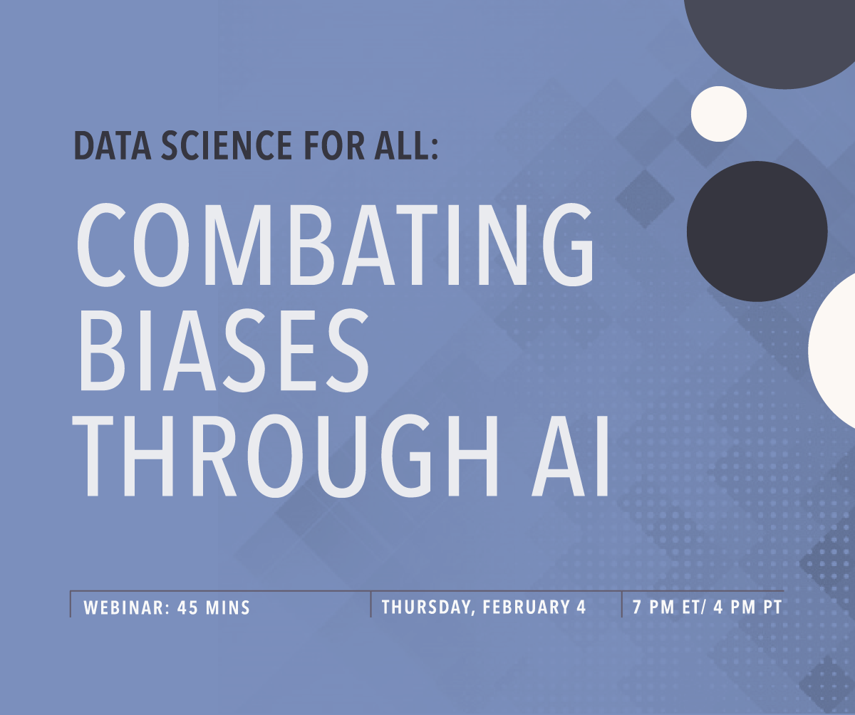 DS4A: Combating Biases Through AI with Alexander Liss
