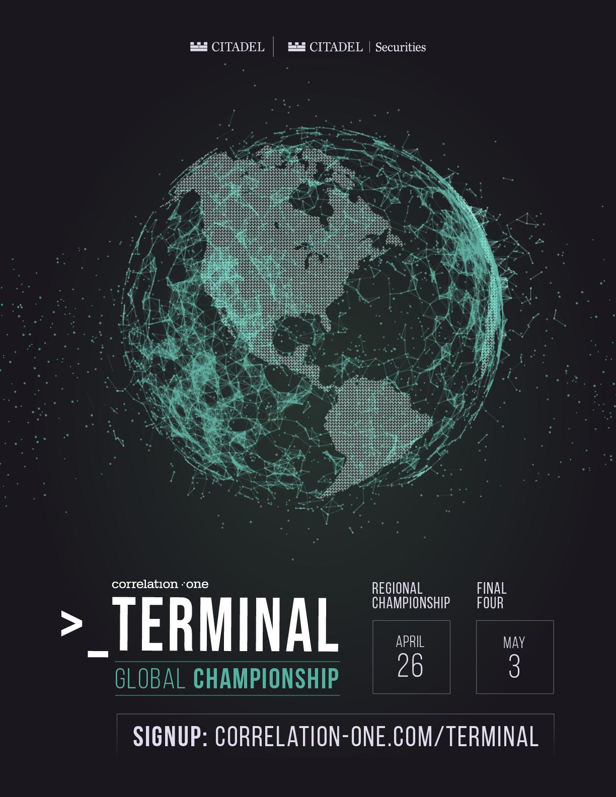 Correlation One Terminal Global Championship